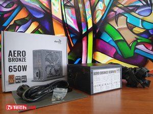 Обзор блока питания Aerocool Aero Bronze 650W: нужный уровень