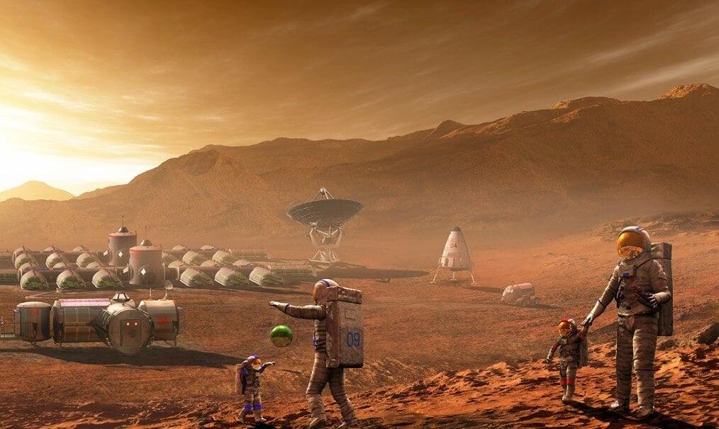 Как астронавты будут добывать кислород на Марсе?