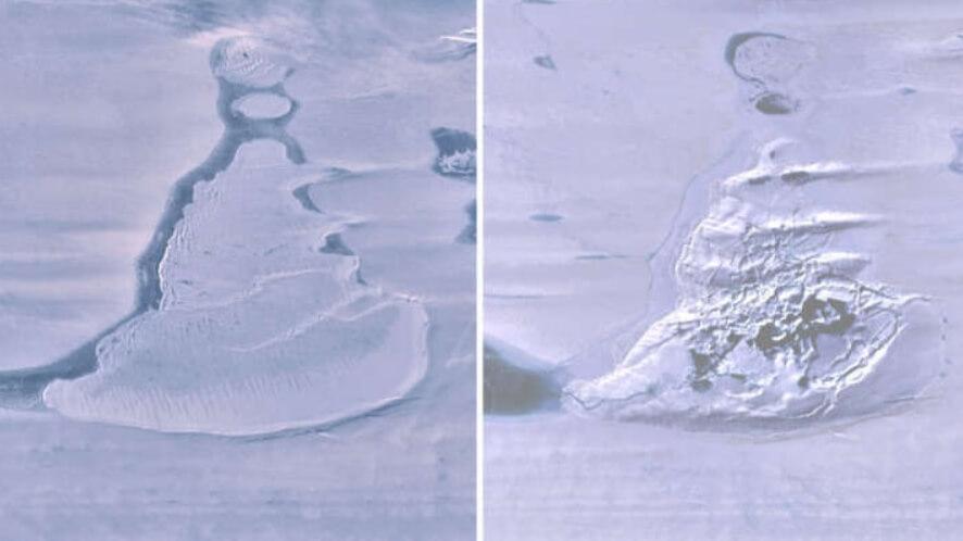 В Антарктиде исчезло огромное озеро. Куда оно пропало?