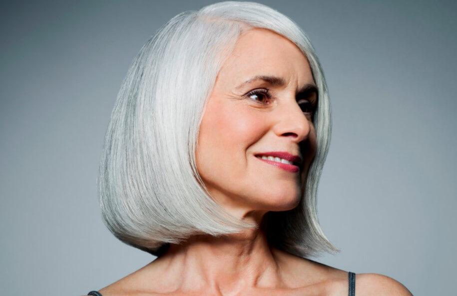 Седые люди способны восстанавливать цвет своих волос