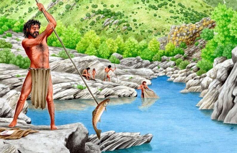 Когда и как древние люди начали рыбачить?