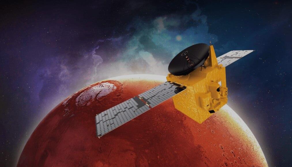 Арабская станция Al Amal отправила на Землю новые данные о Марсе