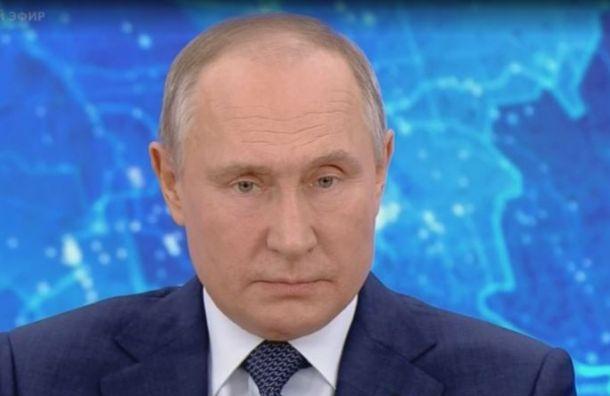 Путин: Первостепенная задача — провести вакцинацию внутри страны