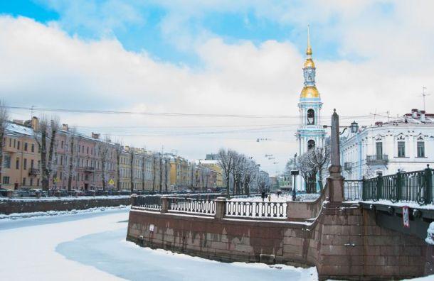 Ледяной дождь и метель покинут Петербург