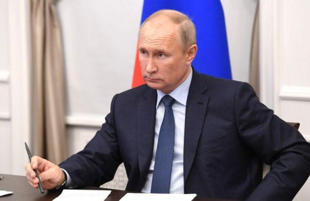 Путин поздравил Байдена с победой на президентских выборах США