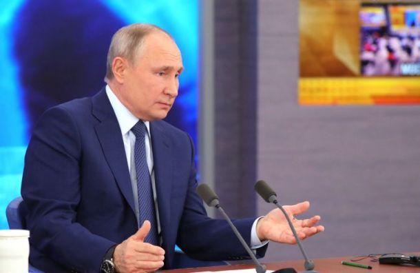 Путин об отравлении Навального: Кому он нужен-то?
