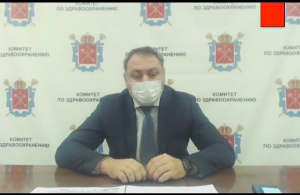 Сарана: 'В Петербурге осталось 4% свободных коек'