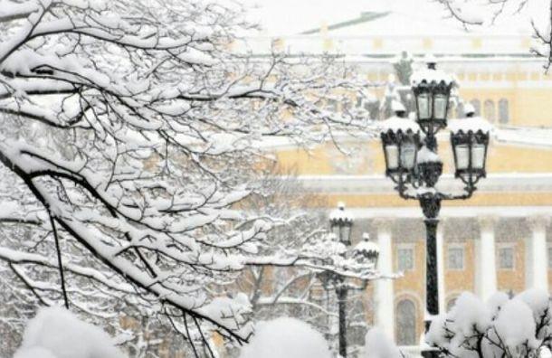 Теплая и снежная погода придет в Петербург 21 февраля