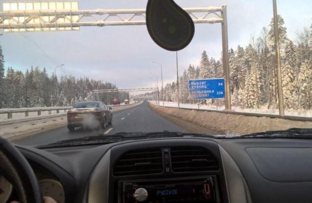 Участок трассы 'Скандинавия' расширят с двух до шести полос
