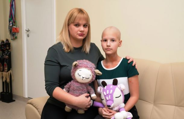 Петербургские онкологи спасли Лилю из Кургана