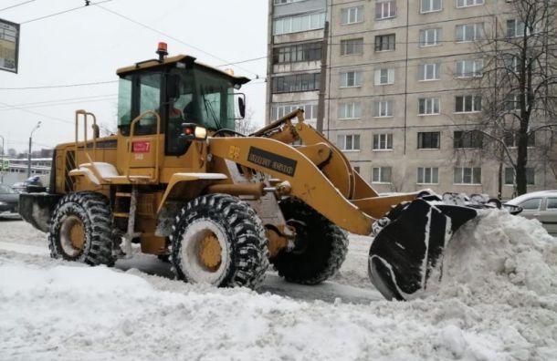 Во второй половине дня 23 февраля в Петербурге будут бушевать метели