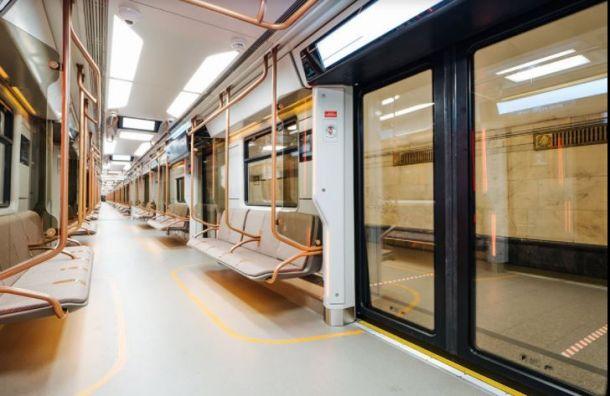 Инновационный состав пустят по красной ветке метро в 2022 году