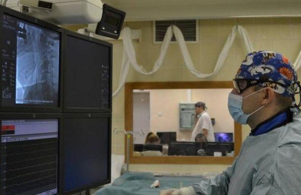 В Александровской больнице возобновил работу Сосудистый центр