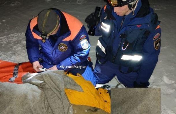 Сноубордист из Петербурга сорвался со склона в Хибинах