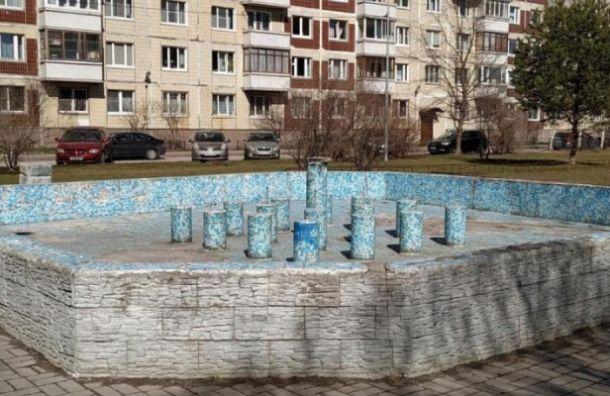 Фонтан на улице Щербакова заработает спустя 18 лет