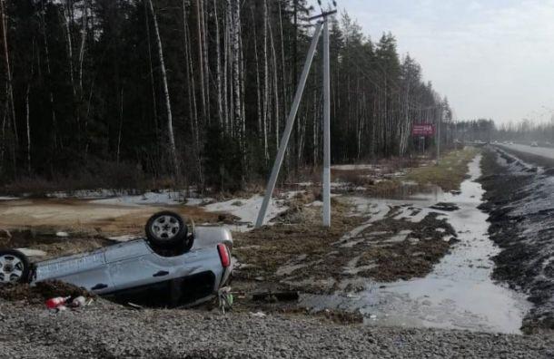Водитель Subaru погиб в ДТП на трассе 'Сортавала'