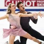 Виктория Синицына и Никита Кацалапов выиграли золото в танцах на льду на чемпионате мира в Стокгольме