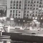 Сильный пожар в одной из высоток в Москве