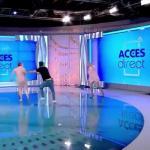 На румынскую телеведущую в прямом эфире напала голая женщина