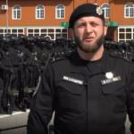 Полк полиции особого назначения имени Ахмата Кадырова пожаловался Путину