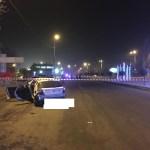 Лихач на «Хендэ» разбился при въезде в Кисловодск