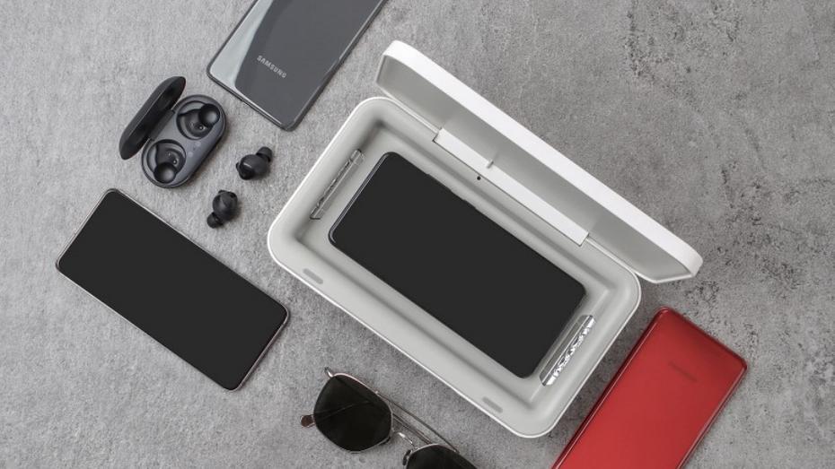 Samsung привезла в Россию УФ-стерилизатор для смартфонов и других гаджетов