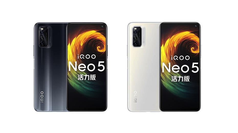 Смартфон iQOO Neo 5 Vitality Edition получил 'прокачанный' экран и при этом стал дешевле