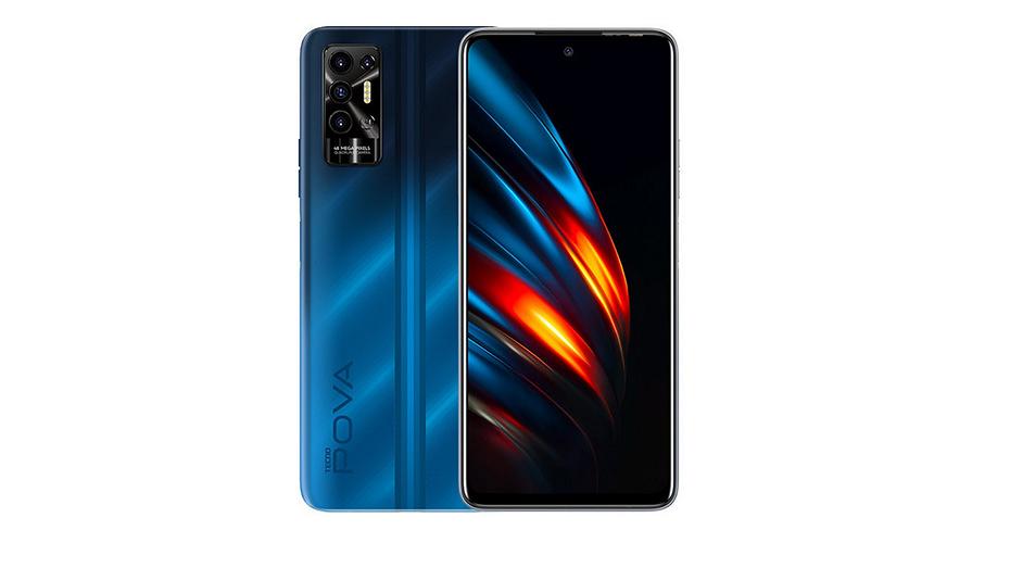 Смартфон Tecno Pova 2 получил гигантские экран и батарею по цене всего 12 000 рублей