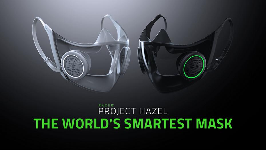 Razer презентовала 'самую умную в мире маску'