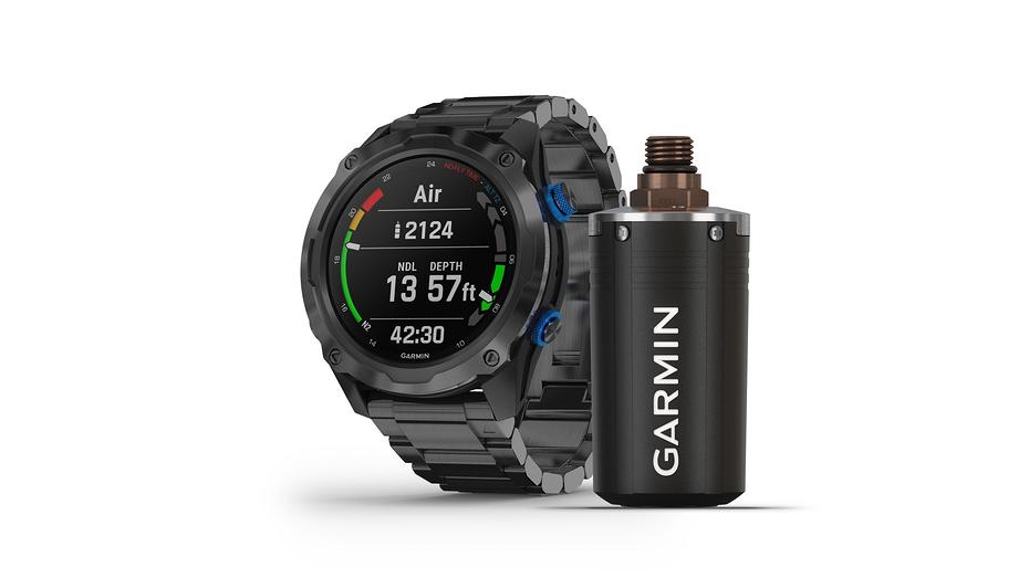 Garmin привезла в Россию умные часы для состоятельных любителей нырнуть поглубже