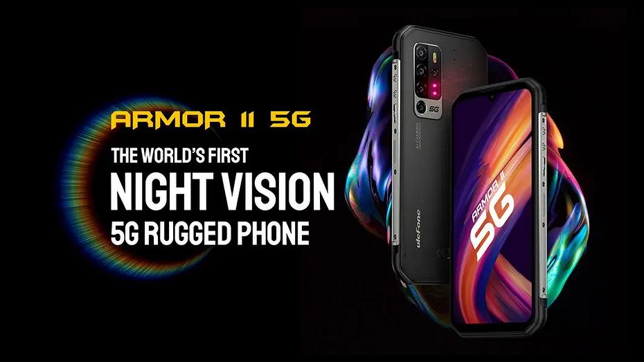 Представлен первый в мире защищенный смартфон с ночным видением и 5G