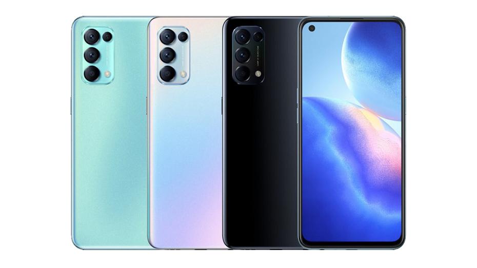 OPPO анонсировала доступный смартфон с 5G, 90-Гц дисплеем и 65-Вт зарядкой - Reno5 K 5G