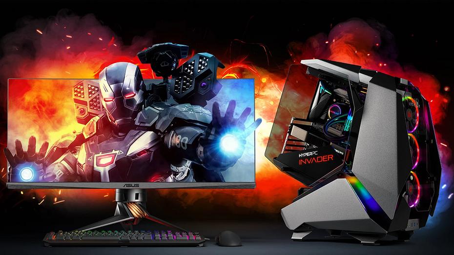 Начались российские продажи сверхмощного игрового компьютера HYPERPC INVADER