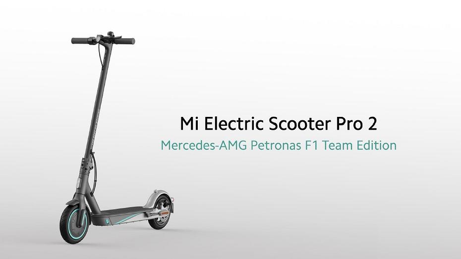 Xiaomi представила электросамокат, созданный совместно с командой Формулы-1