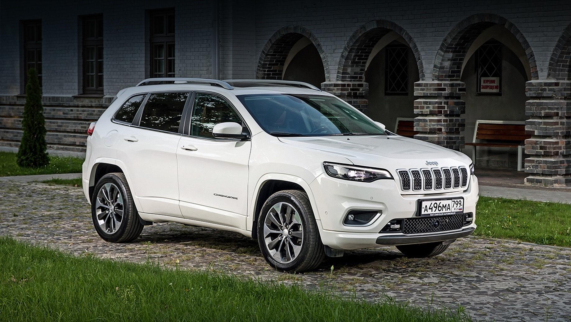 Кроссовер Jeep Cherokee покинул российский рынок