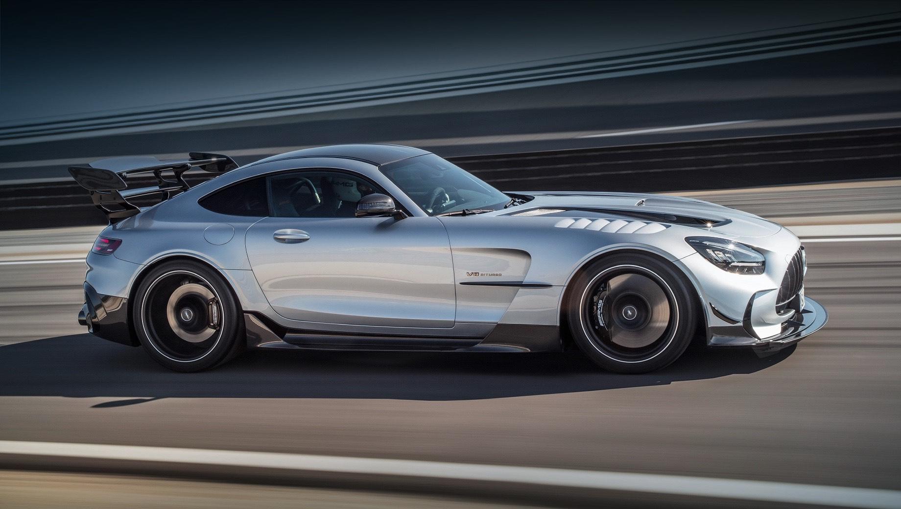 Mercedes-AMG GT Black Series стал самым дорогим Мерседесом у нaс