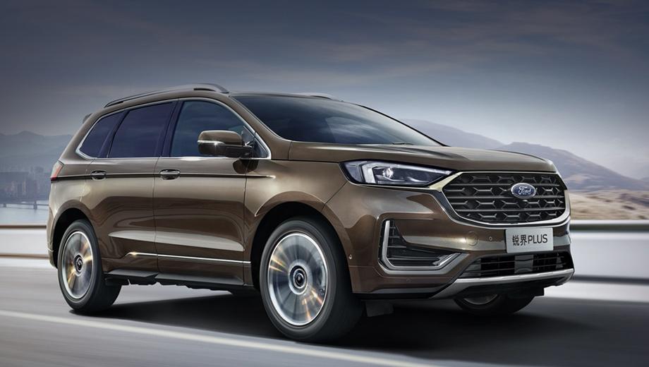 Китайский Ford Edge Plus удивил новыми дисплеями