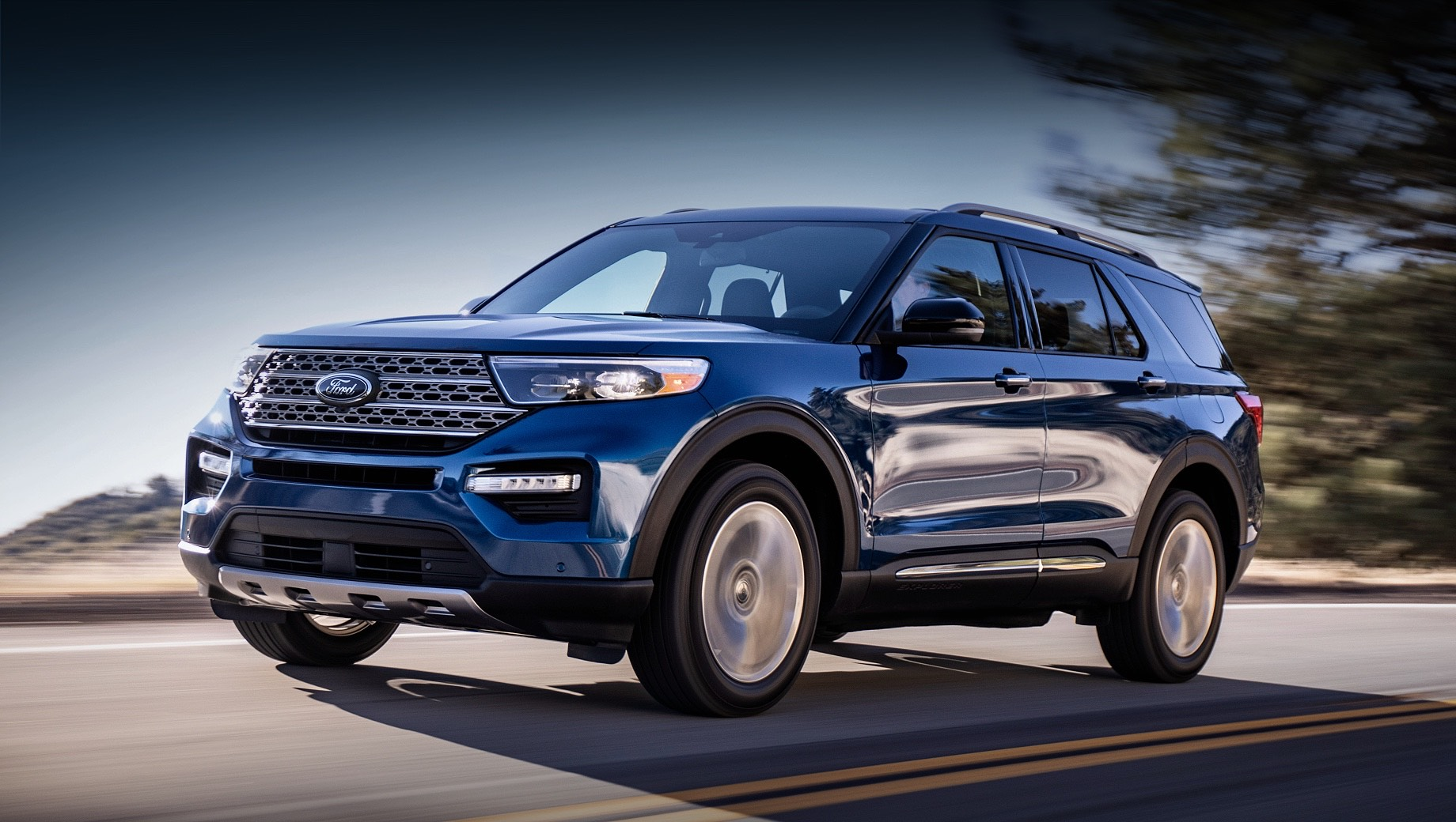 Ford Explorer получит офроуд-пакет Timberline