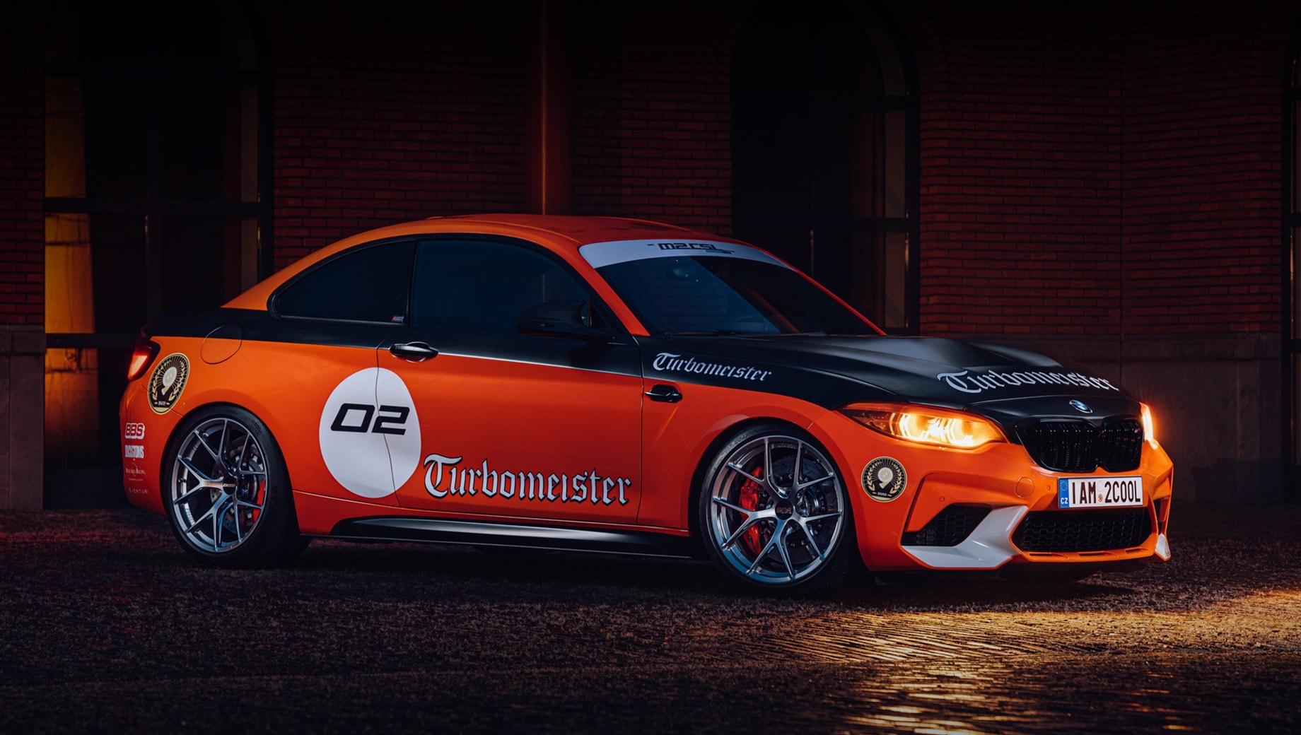 Энтузиаст из Голландии сделал своё купе BMW M2 CSL