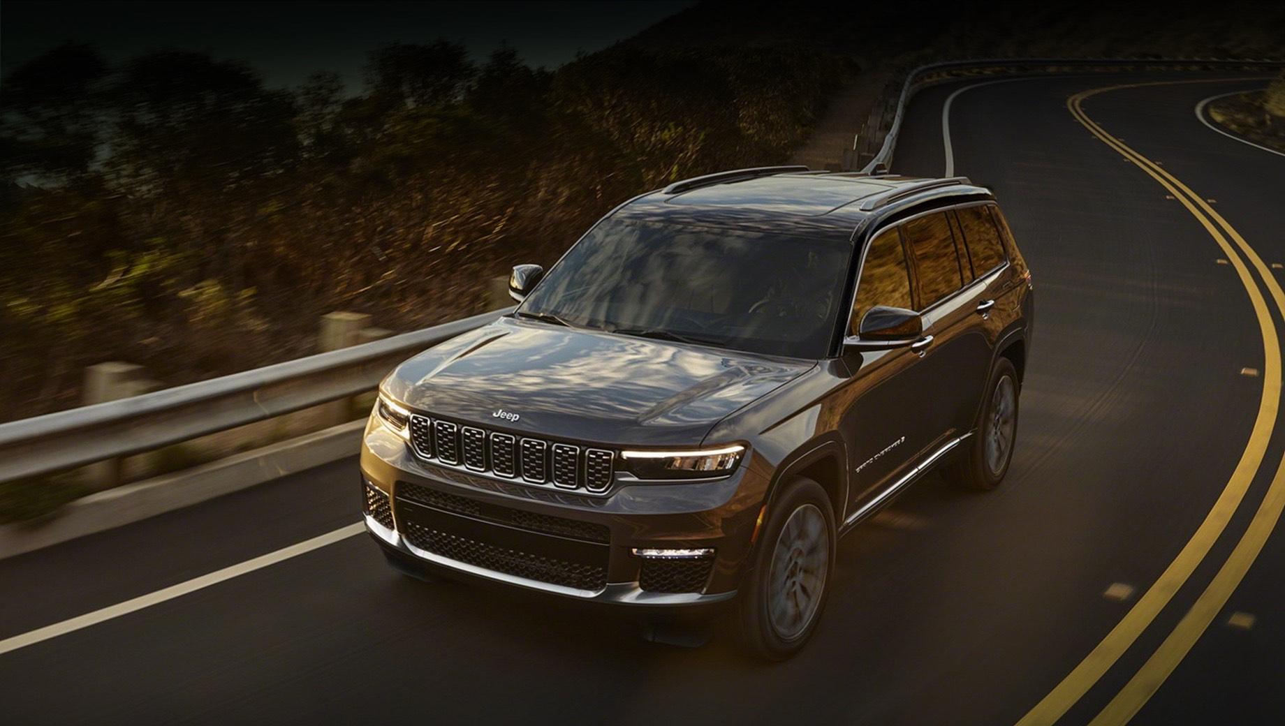 Новый Jeep Grand Cherokee дебютировал в невиданной версии L