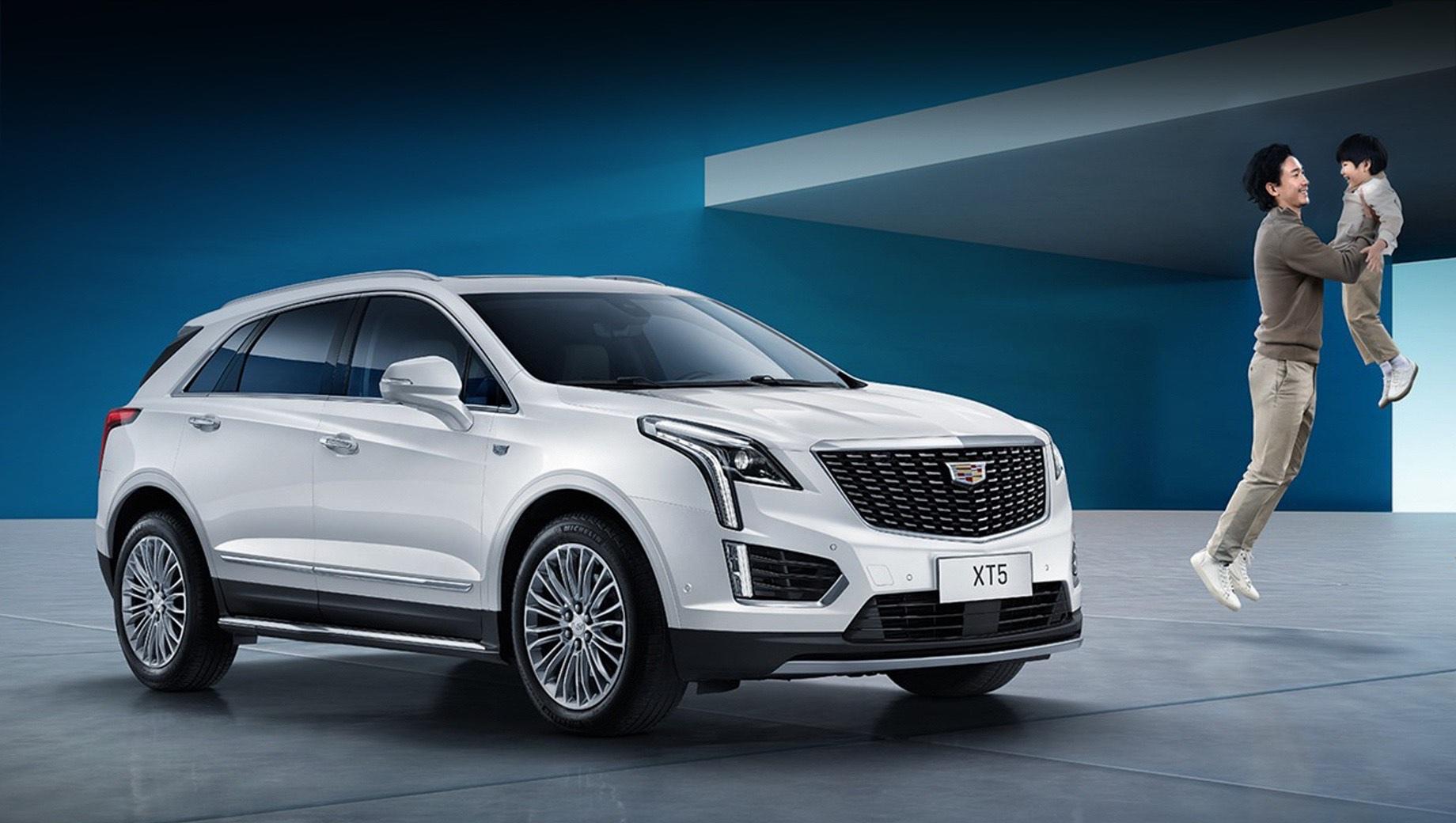 В Китае начались продажи гибридов Cadillac XT5 и XT6