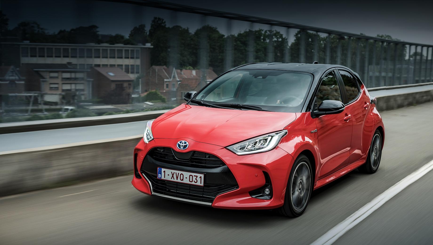 Хэтчбек Toyota Yaris стал «Автомобилем года» в Европе