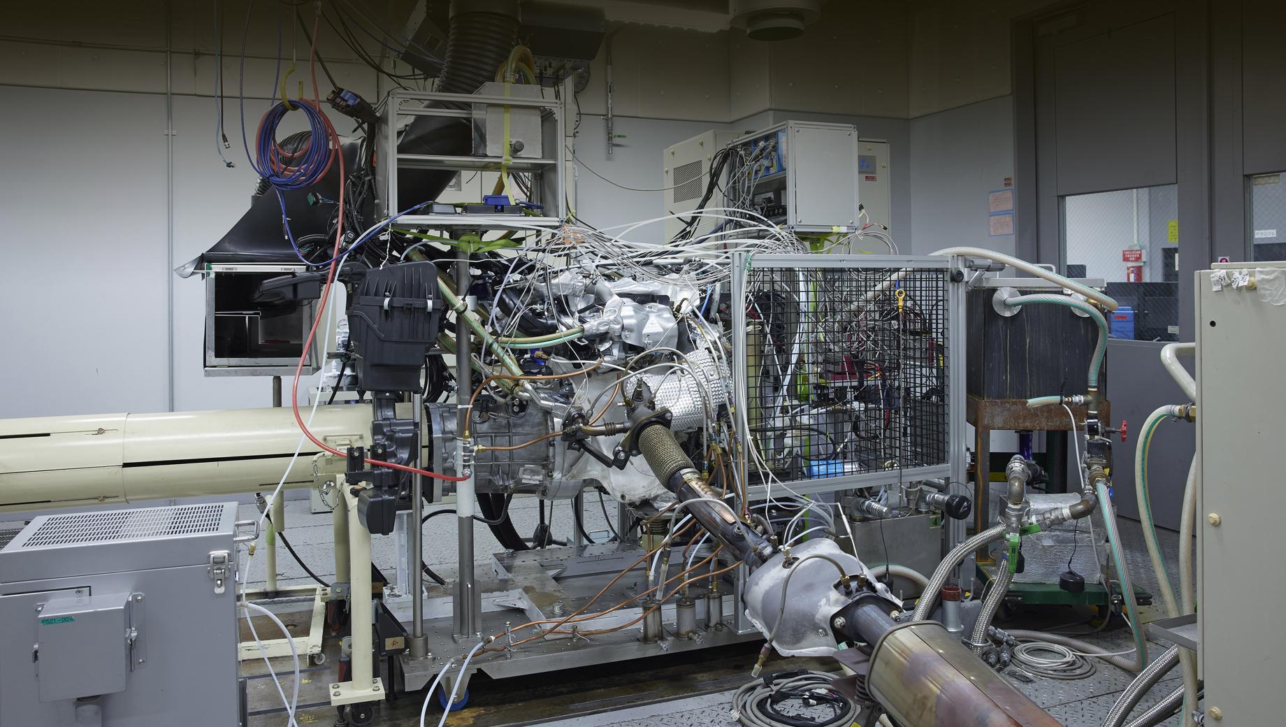 Мотор Nissan STARC показал рекордный тепловой КПД