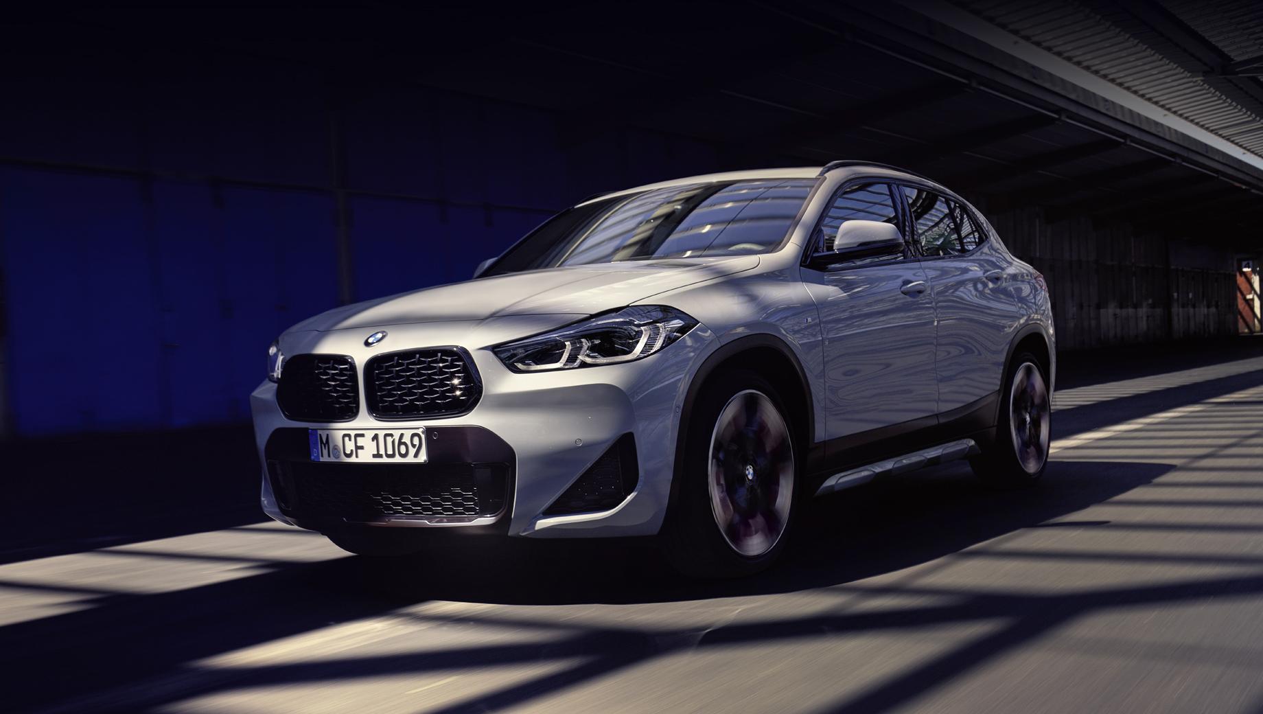 Паркетник BMW X2 M Mesh предложил спорт для экономных