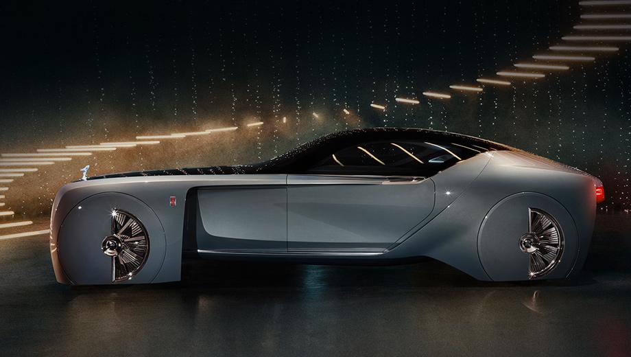 Rolls-Royce назовёт электромобиль «безмолвной тенью»