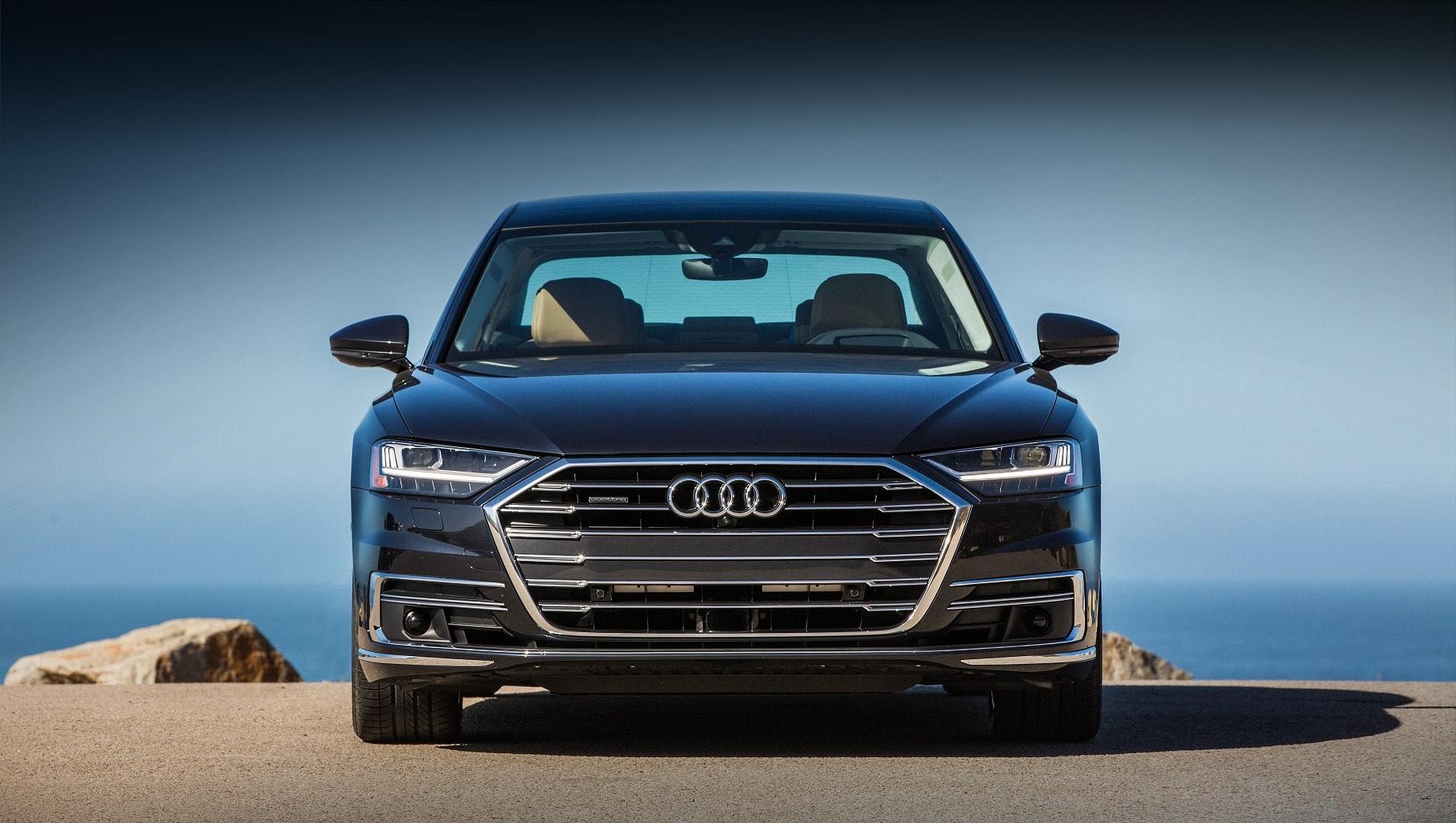 Седан Audi A8 в исполнении Horch замечен на дорогах