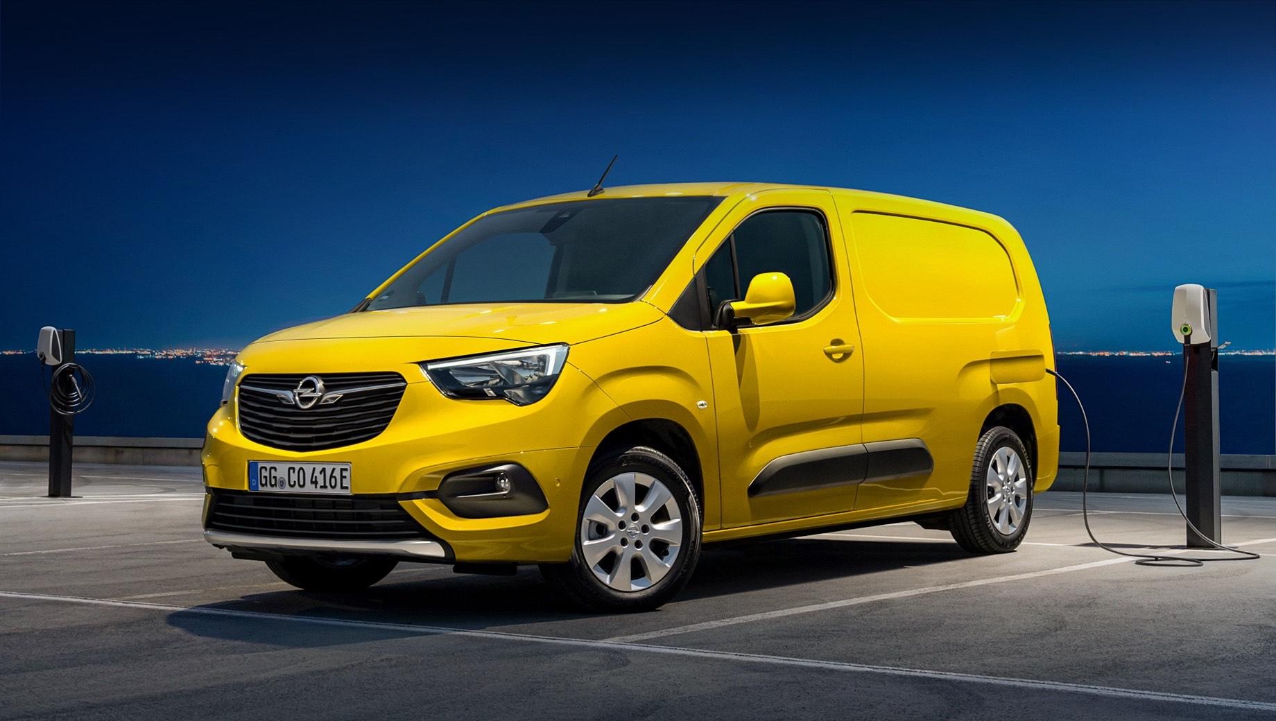 Opel Combo-e выйдет на рынок осенью 2021 года