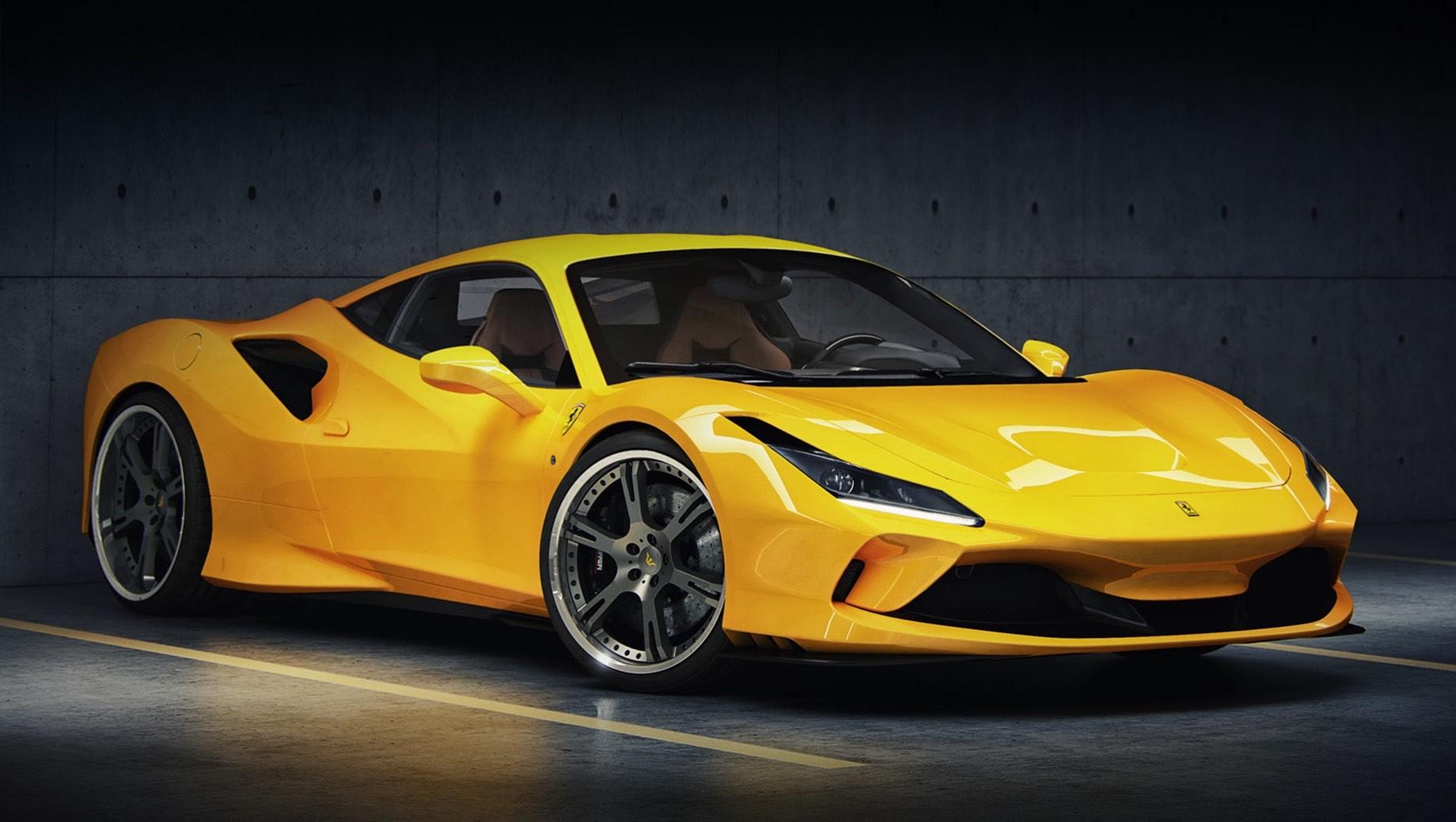 Ателье Wheelsandmore добавило скорости купе Ferrari F8