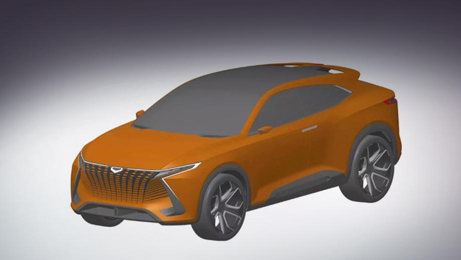 Фирма Cowin Auto защитила патентом концептуальное «купе»
