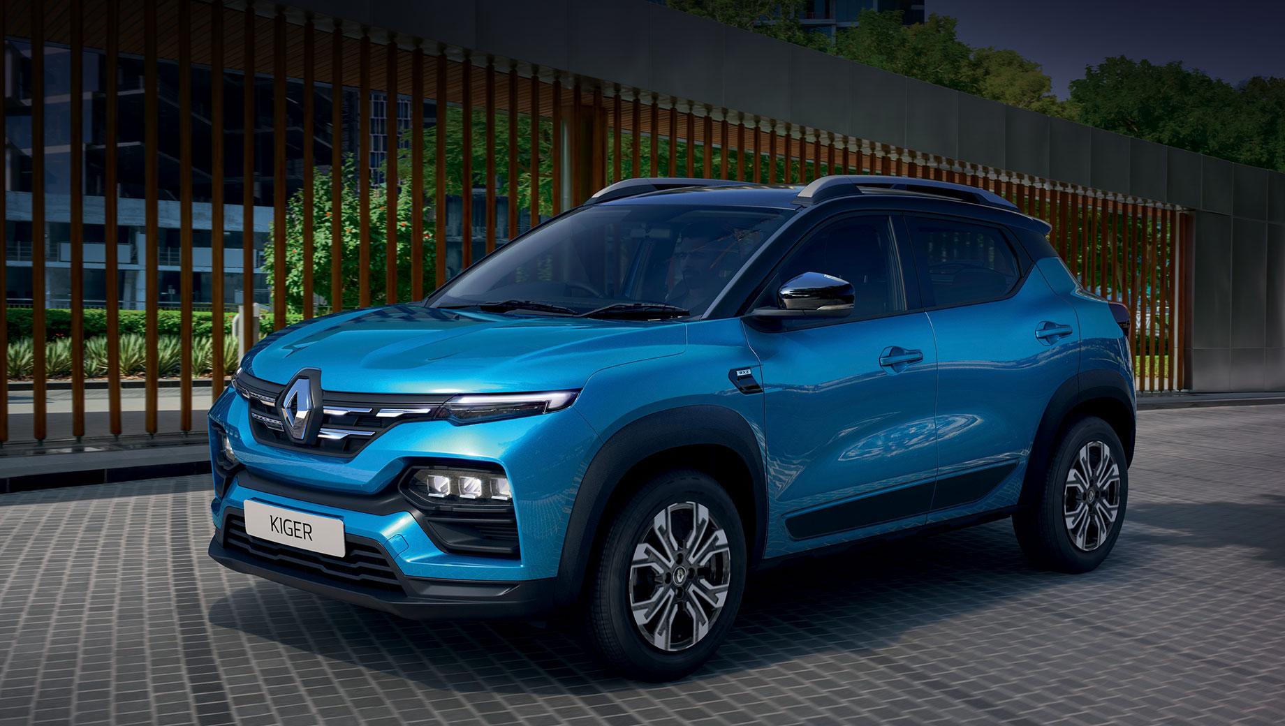 Серийный Renault Kiger во многом повторил микровэн Triber
